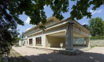 Vila Stiassni vBrně postavená podle návrhu Ernsta Wiesnera