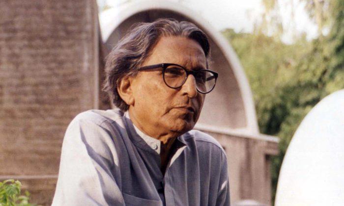 Indický architekt Balkrishna Doshi získal prestižní cenu Pritzker Prize za rok 2018
