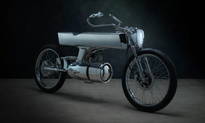 Bandit9 navrhli futuristickou motorku L-Concept snádechem starých časů