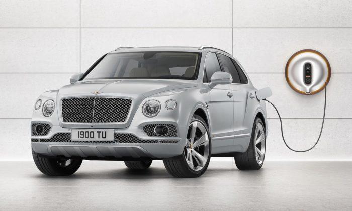 Philippe Starck navrhl nabíjecí stanici pro nové Bentley Bentayga Hybrid
