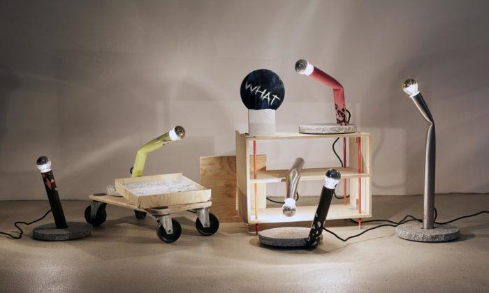 Adam Tureček ukazuje výsledky experimentálního navrhování užitečných objektů