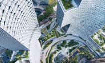 Komplex mrakodrapů Duo odateliéru Büro Ole Scheeren