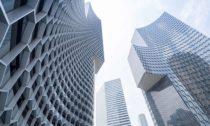 Komplex mrakodrapů Duo od ateliéru Büro Ole Scheeren
