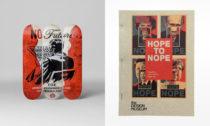 Ukázka z výstavy Hope to Nope: Graphics and Politics 2008-18