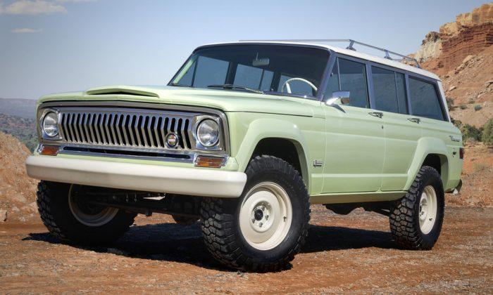 Jeep Wagoneer Roadtrip jeoživenou vzpomínkou naikonické SUV z60.let