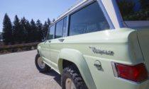 Koncept vozu Jeep Wagoneer Roadtrip