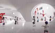 Taoyuan Museum of Art od nizozemských MVRDV