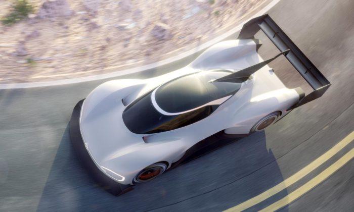 Volkswagen ukázal koncept elektrického sporťáku I.D. R Pikes Peak