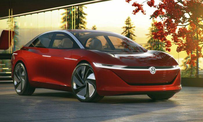 Volkswagen ukázal studii autonomního sedanu brzké budoucnosti I.D. Vizzion