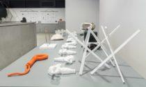 Výstava Supernova studnetů a absolventů Ateliéru supermédií na UMPRUM