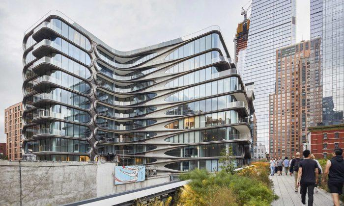 New York dokončil stavbu bytového domu podle návrhu Zahy Hadid