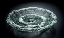Andrea Stašková aukázka zjejí sklářské tvorby