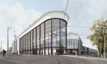 Kulturní hub Kanal zbývalé továrny Citröen podle návrhu ateliéru EM2N