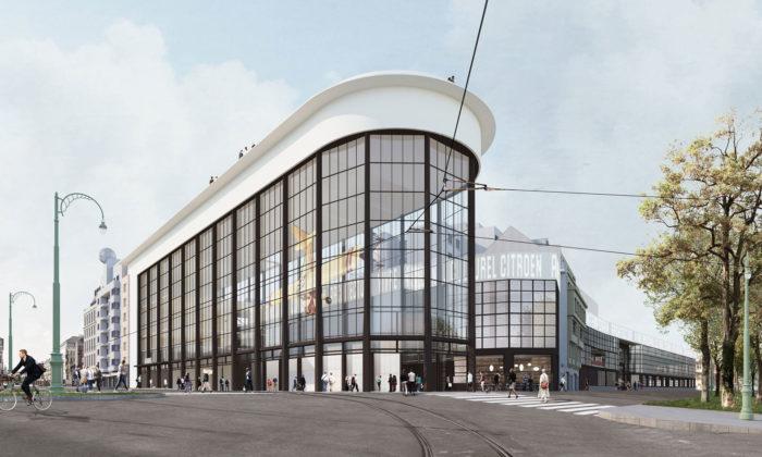 Brusel promění bývalou továrnu Citröen nacentrum kultury aarchitektury