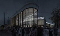 Kulturní hub Kanal z bývalé továrny Citröen podle návrhu ateliéru EM2N
