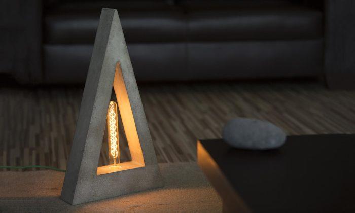 Slovenská značka Concrete Top Solutions navrhuje svítidla adoplňky zbetonu