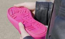 Boty z odpadních žvýkaček Gumshoe Amsterdam