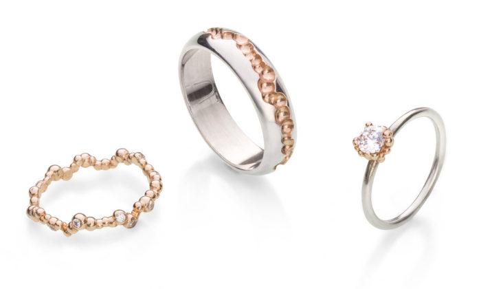 Kadaník navrhuje zásnubní asnubní prsteny vyráběné ispomocí 3D tisku