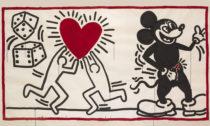 Keith Haring aukázka zvýstavy The Alphabet