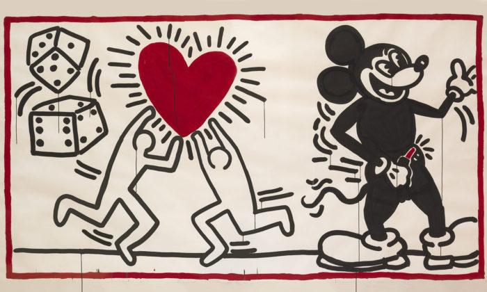 Vídeň otevřela velkou retrospektivní výstavu tvorby Keitha Haringa