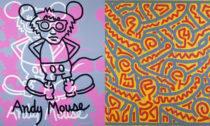 Keith Haring a ukázka z výstavy The Alphabet