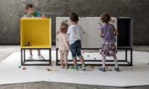 Moow a jejich kolekce nábytku Stüda pro Lego