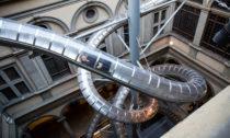 Instalace The Florence Experiment oddvojice Carsten Höller aStefano Mancuso