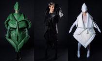 Agáta Zenklová ajejí udržitelná módní kolekce (model: Dan M. Šabata, modelka: Michaela Hollá, vedoucí BP: MgA. Martin Havel)