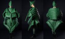 Agáta Zenklová a její udržitelná módní kolekce (model: Dan M. Šabata, modelka: Michaela Hollá, vedoucí BP: MgA. Martin Havel)