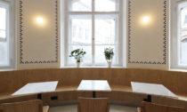 Bistro na Nové radnici na Mariánském náměstí v Praze