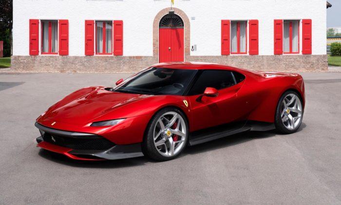 Ferrari SP38 jespeciálně navržený sporťák pro jediného zákazníka