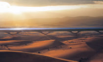 První komerční Hyperloop zAbu Dhabi doDubaje