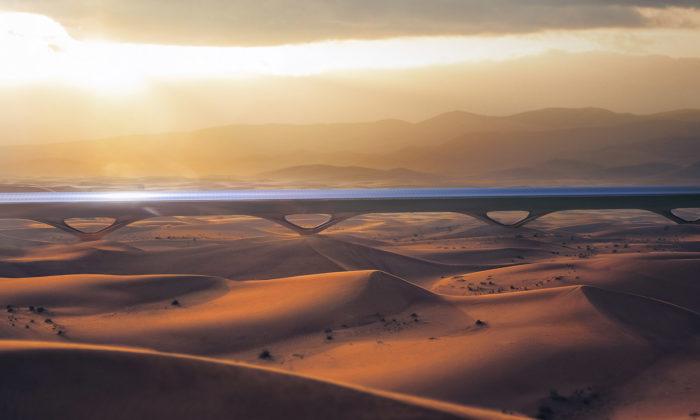 Spojené arabské emiráty staví první Hyperloop nasvětě pro přepravu cestujících