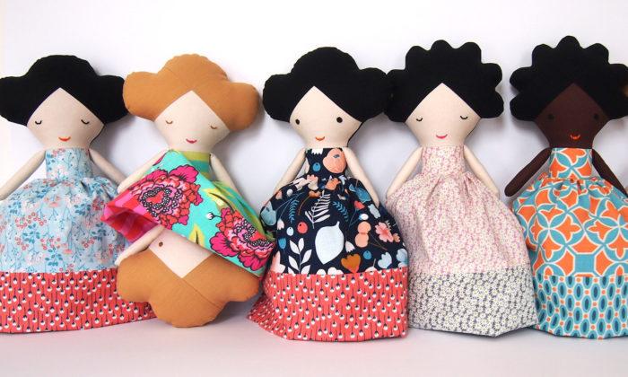 Lollipop ručně šije látkové panenky ipostavičky malých umělců