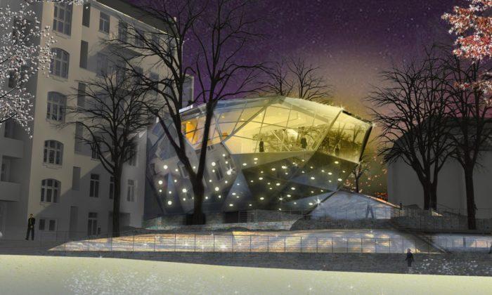 Muzeum skla abižuterie vJablonci nad Nisou začalo stavět skleněný krystal