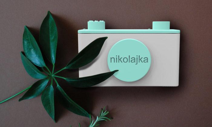 Nikolajka jeslovenský 3Dtištěný analogový fotoaparát odNikoleta Design