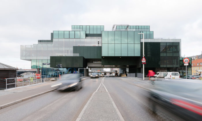 OMA postavila vKodani multifunkční BLOX sDánským centrem architektury
