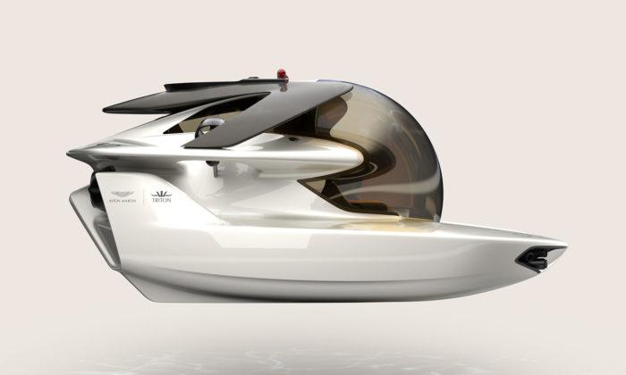 Aston Martin navrhl pro Triton limitovanou edici osobních ponorek Neptune