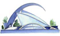 Santiago Calatrava aukázka jeho tvorby