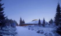 Nové planetárium Solobservatoriet vnorském Harestua odateliéru Snøhetta