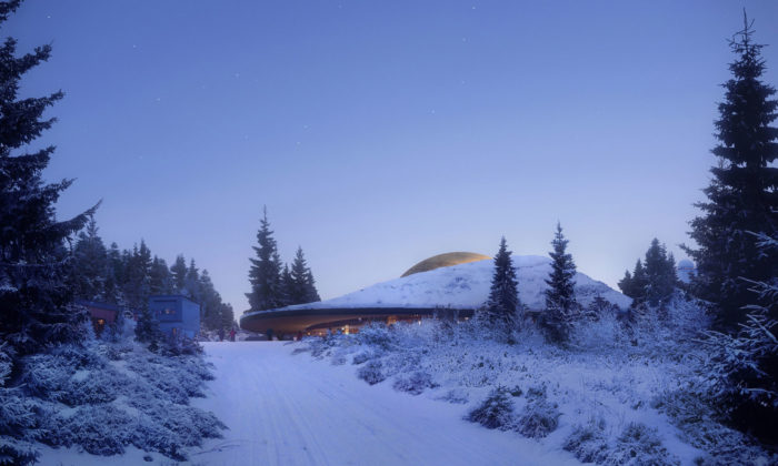 Snøhetta postaví vNorsku planetárium vpodobě malé sluneční soustavy