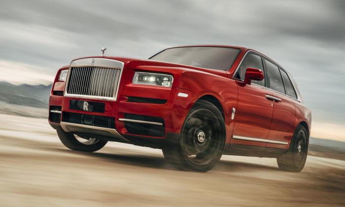 Rolls-Royce odhalil Cullinan apředstavil tak nejluxusnější SUV nasvětě
