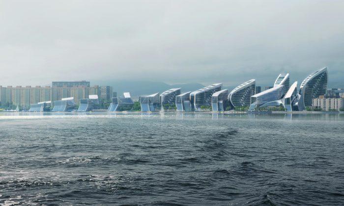 Zaha Hadid Architects postaví uČerného moře vRusku multifunkční komplex