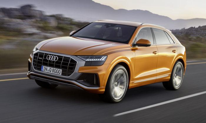 Audi Q8 jenové SUV svýrazným avmnohém přelomovým designem