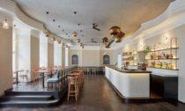 Kavárna NoD po rekonstrukci od CollColl