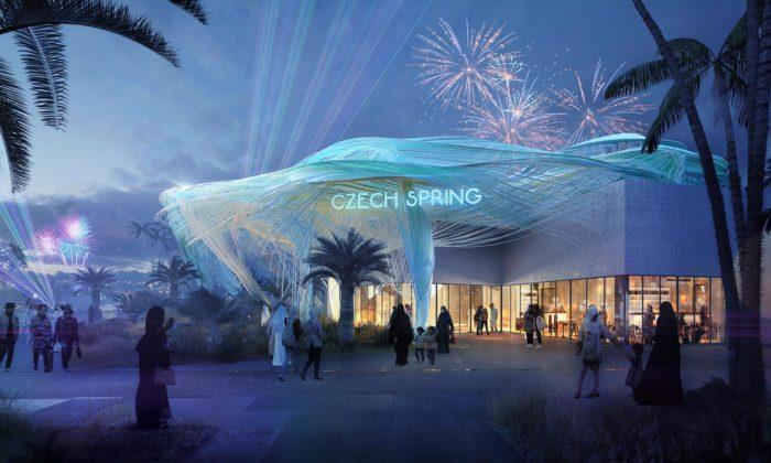 Pavilon České republiky pro Expo 2020 dostal podobu mraku zpotrubí