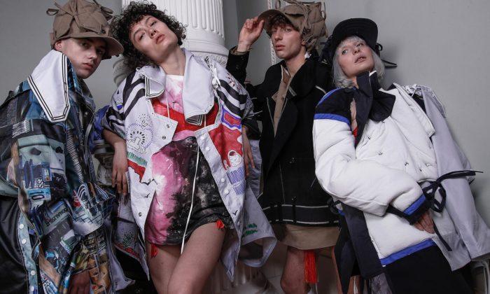 Petra Ptáčková navrhla módní kolekci ze starých reklamních bannerů