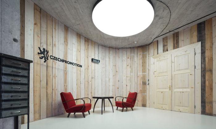 Komunikační agentura Czech Promotion má nové kanceláře vretro stylu