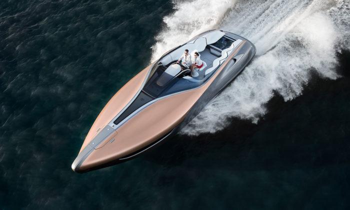 Motorový člun Lexus Sport Yacht získal prestižní ocenění ajde dovýroby