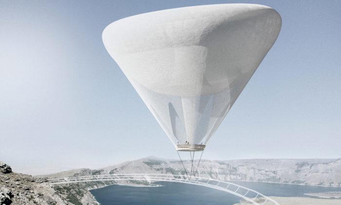 Nad tureckým vulkánem Nemrut by mohla vyrůst vyhlídka skroužícím balónem